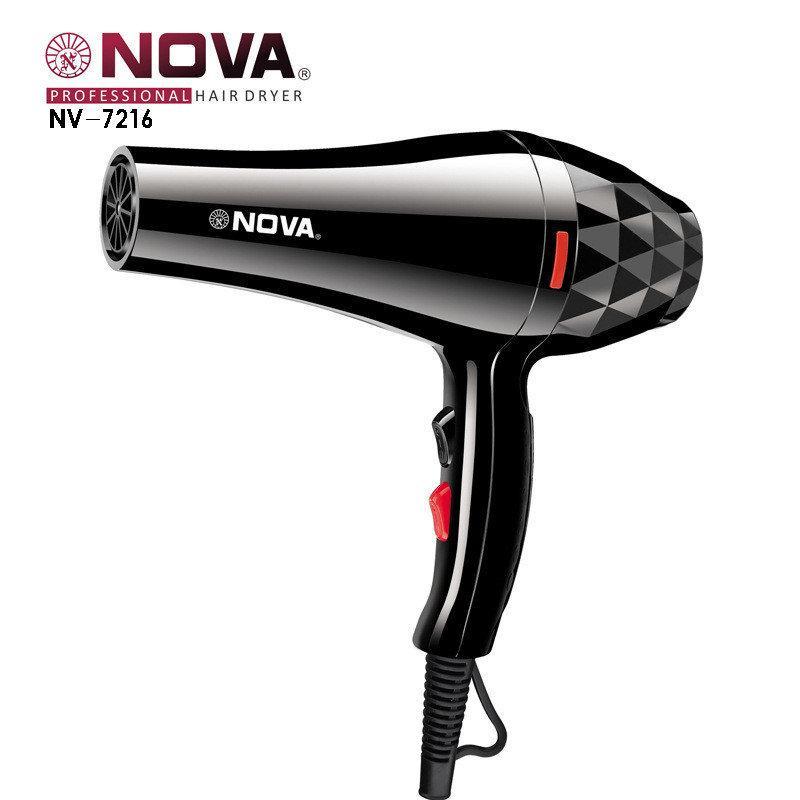 Потужний фен для волосся Nova NV-7216 3200 Вт