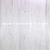 Панель (ПВХ) пластиковая Дуб Портофино Белый (ламинированная) Decomax, 250х2700х6 мм.