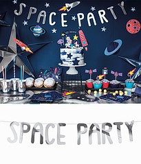 "Гирлянда ""SPACE PARTY"" (SILVER)"