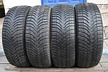 Шины б/у 205/55 R16 Michelin Alpin A4, ЗИМА, 6 мм, комплект, фото 4
