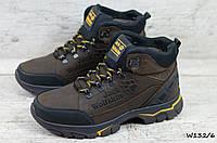 Мужские кожаные зимние кроссовки Jack Wolfskin (Реплика) (Код: W132/6   ) ►Размеры [40,41,42,43,44,45], фото 1