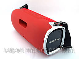Hopestar A6 34W Boombox SuperBass, портативная колонка с Bluetooth MP3, красная, фото 2