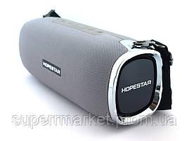 Hopestar A6 34W Boombox SuperBass, портативная колонка с Bluetooth MP3, серая, фото 3