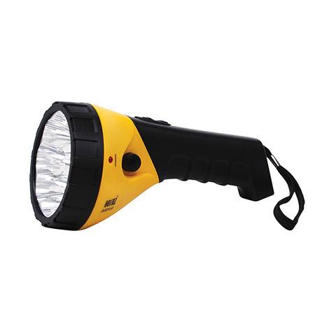 """Фонарик LED ручной """"PUSKAS-3"""" 0.9 Вт 0.9Ah желтый"""