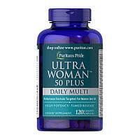 Витамины Puritans Pride Ultra Woman 50 Plus daily multi, 60caplets