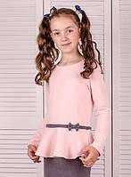 Детская блузка с паетками