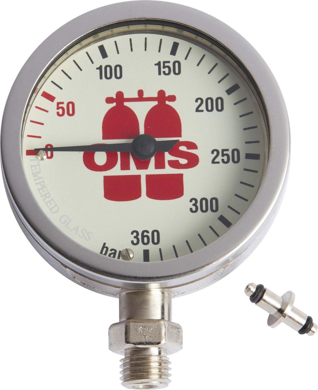 Манометр  SPG OMS-63 mm,/w, фото 1
