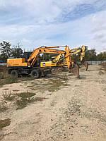 Аренда Экскаватор колесный полноповоротный HYUNDAI 140W-7A - ковш 0,6м3 земляные работы, разработка котлована