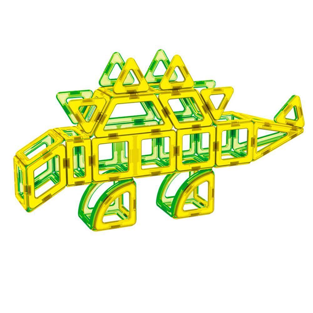 Магнітний конструктор 3D динозаври LT2004, 106 деталей - фото 2