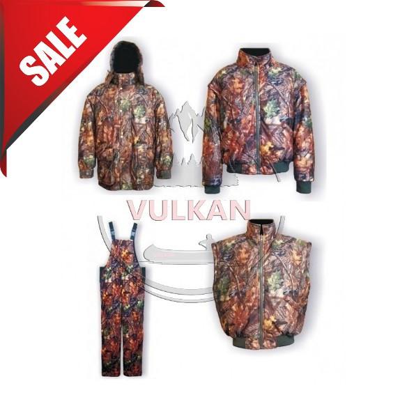 АКЦИЯ! Зимний костюм до -25С VULKAN ANT BISON 4 в 1