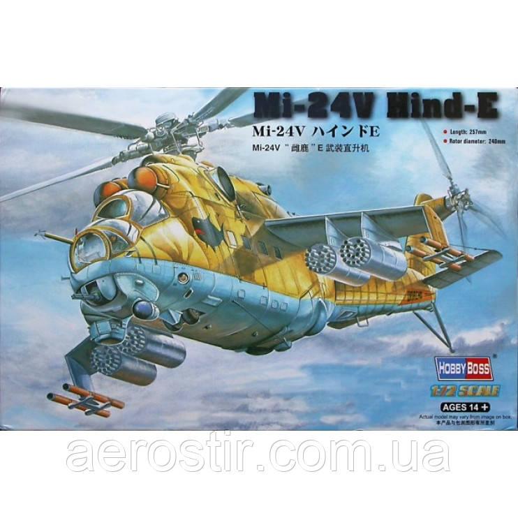 "Ми-24В ""Hind"" 1/72 Hobby Boss 87220"