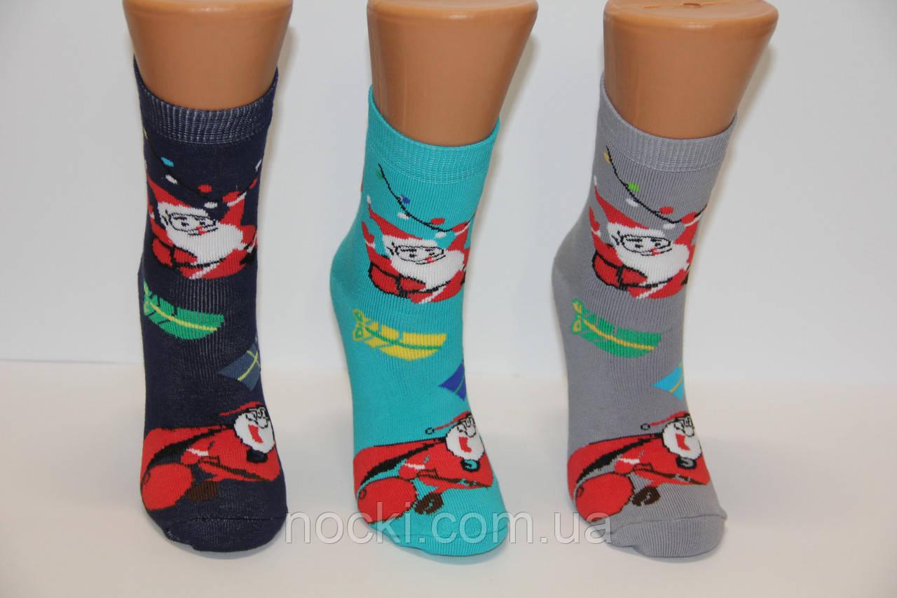 Женские носки махровые новогодние Ж-30