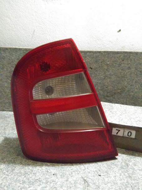 №70 Б/у фонарь задний лівий 6Y6945111C для Skoda Fabia 1999-2007