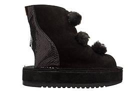 Жіночі босоніжки Popa Montblanc 37 Black