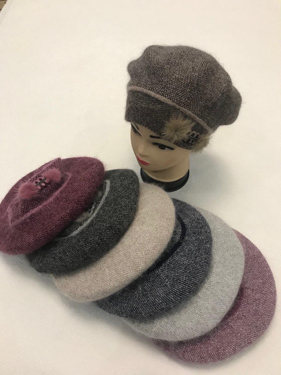 жіночий бере, жіночі шапки, берети, берети оптом