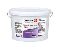 Краска матовая Haering D 1250 Unisil-Brillant-Lasur 2,5 л белая интерьерная для внутренних работ