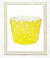 """Формочки для капкейків """"Yellow dots"""", фото 2"""
