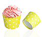 """Формочки для капкейков """"Yellow dots"""", фото 3"""