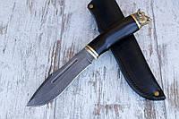 """Нож ручной работы """"Свирепый"""" из дамасской стали"""