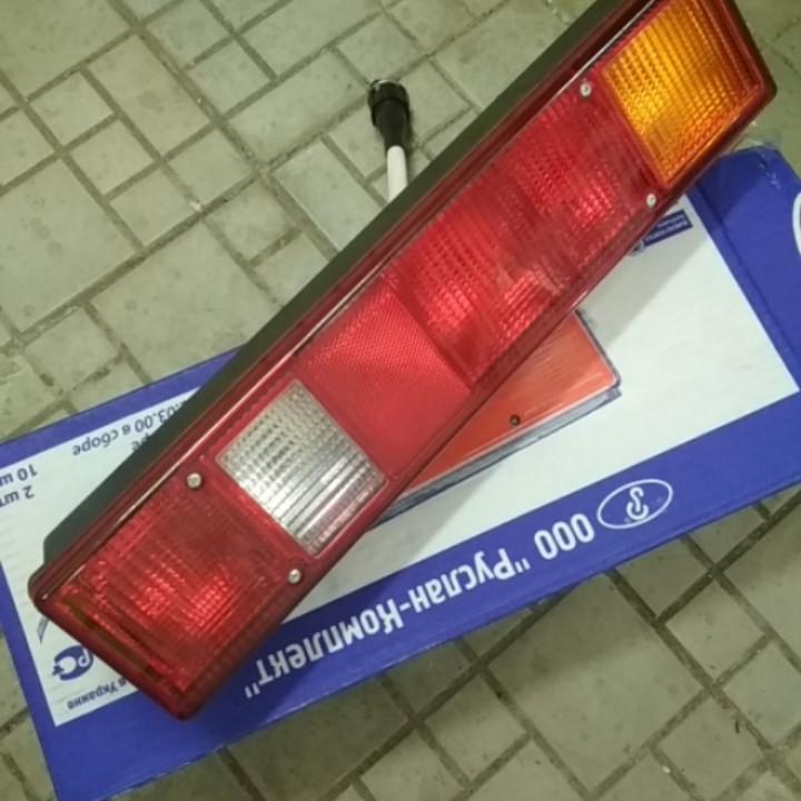Фонарь задний ГАЗ 3302, 24В, 435x95x80 (Руслан-Комплект) Ф-412-01