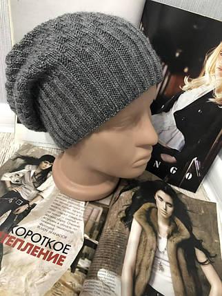 "Женская зимняя шапка ""Genie"" на флисе, фото 2"