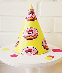 """Ковпачки для свята """"Donuts"""" 2 шт"""