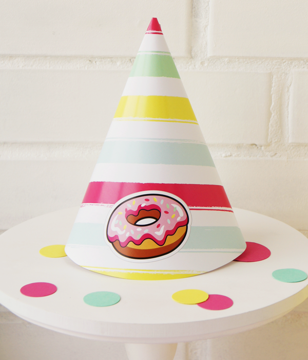 "Колпачки для праздника ""Donuts"""