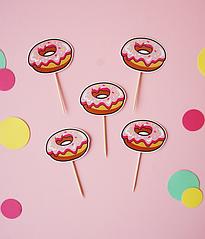 """Топпери для капкейків """"Donuts"""""""