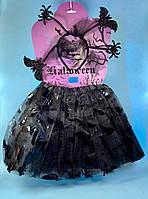 """Карнавальный детский костюм """"Летучая мышь"""" 2 предмета - карнавальный костюм для девочки"""