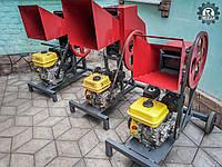 Измельчитель веток REZAK РБ 80, до 80-ти мм. Бензиновый двиг.