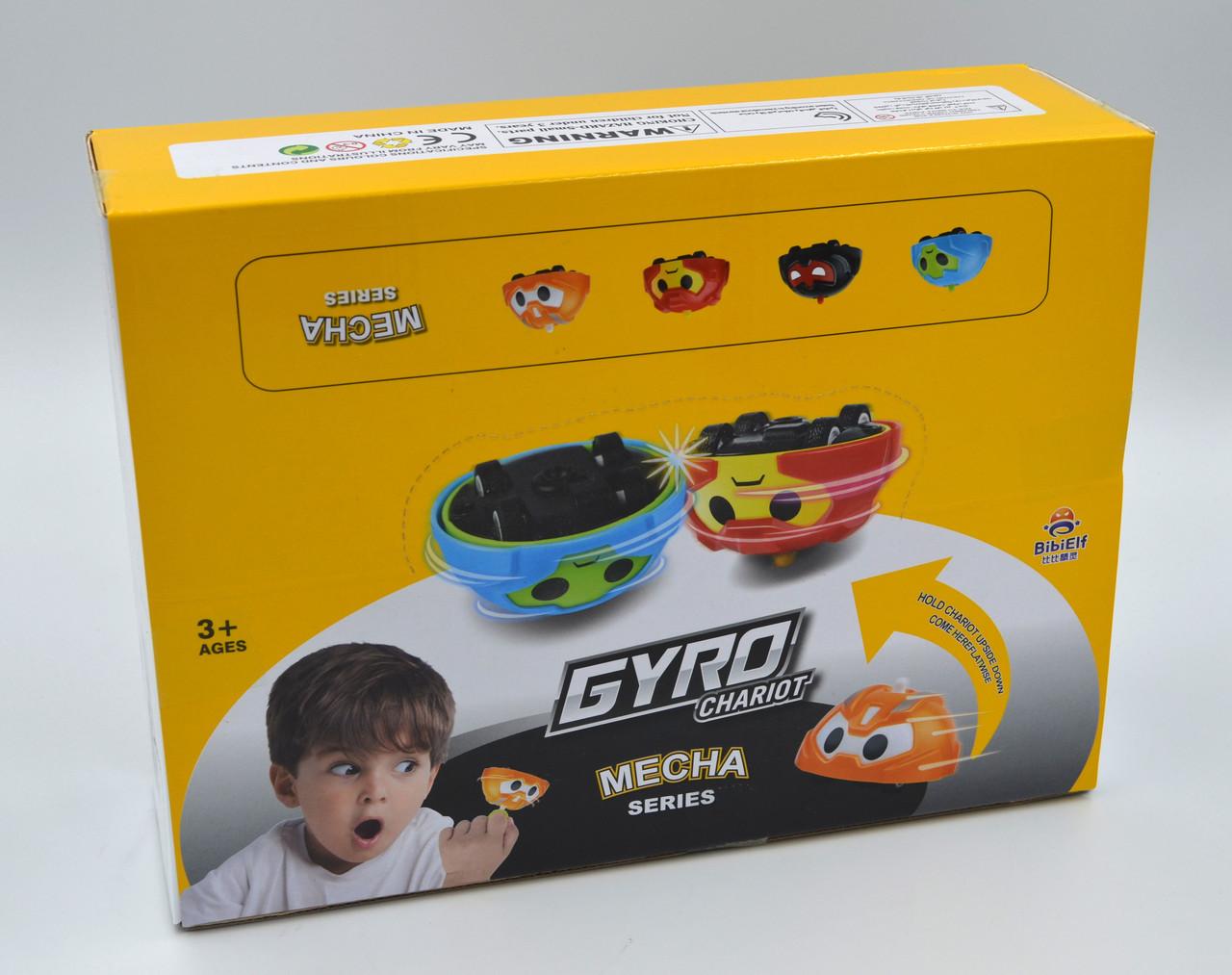 Игровой набор машинок-волчков Gyro Chariot MECHA series (BB1102-6)