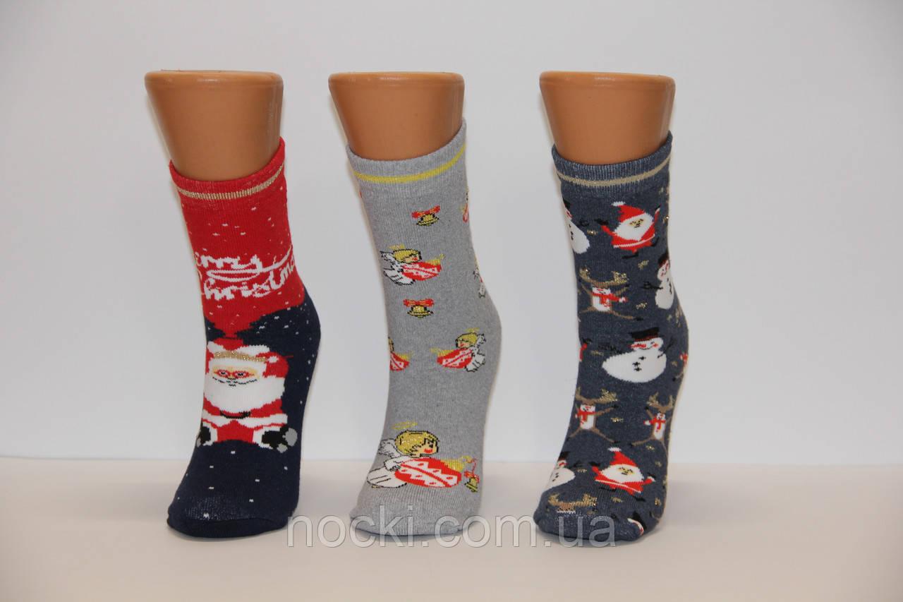 Женские носки махровые новогодние JNLEP