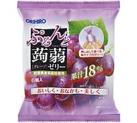 ORIHIRO Виноградное желе 20 г × 6 шт