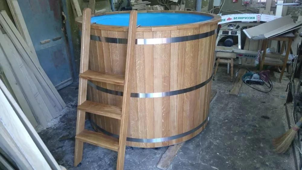 Купель для бани круглая