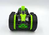 Автомобиль трансформер, перевёртыш на радиоуправлении  JJRC Q49 ACRO зелёный (JJRC-Q49G), фото 4
