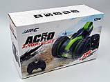 Автомобиль трансформер, перевёртыш на радиоуправлении  JJRC Q49 ACRO зелёный (JJRC-Q49G), фото 7