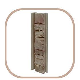 Планка універсальна для фасадних панелей під камінь