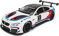 Машинка Металлическая BMW M6 GT3