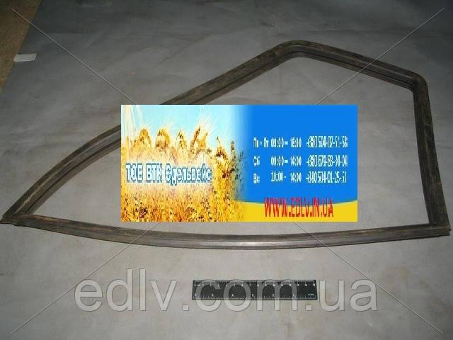 Ущільнювач нерухомого скла ГАЗ лівий (пр-во ЯзРТИ) 3302-6103123-03