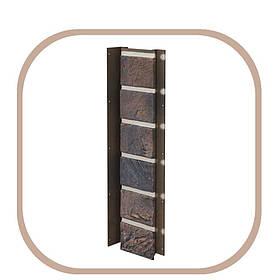Планка універсальна для цокольного сайдинга цегла Solid Brick