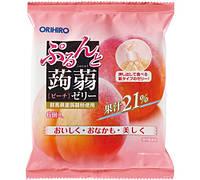 ORIHIRO Персиковое желе 20 г × 6 штук