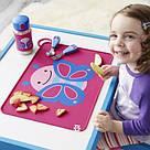 Детский сервировочный коврик бабочка на стол (сиреневый), фото 2
