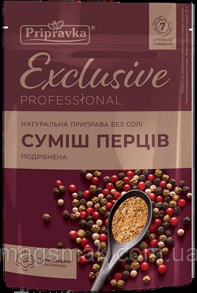 Приправа Exclusive (Эксклюзив) Professional смесь перцев молотая, без соли, 35г, фото 2