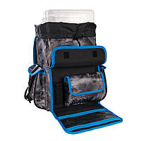 Рыбацкий рюкзак для снастей Plano Z-серии - камуфляжная расцветка Kryptek Typhon