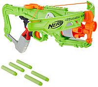 Бластер арбалет Нерф NERF Zombie Strike Outbreaker Bow Hasbro B9093