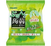 ORIHIRO Виноградное (мускатное) желе 20 г × 6 штук