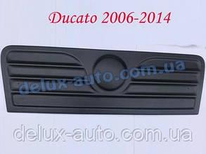 Зимняя матовая решетка (2006-2014) на Fiat Ducato 2006↗ и 2014↗ гг.