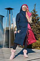Двостороннє жіноче зимове пальто.Розміри 42-60, фото 1