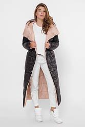 Длинный женский пуховик - одеяло