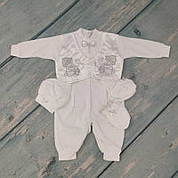 Торжественный костюм для мальчика на выписку, р. 62